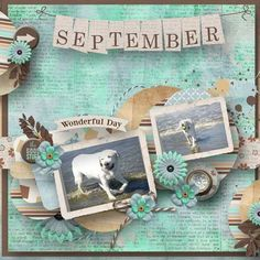 Memories of September 2016 {6-Pack plus FWP} by Just Because Studio @ PBP https://www.pickleberrypop.com/...tid=46139&page=1