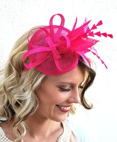 65318e1bd3fd5 32 Best Pink Fascinators - Tea Party Hats images in 2019