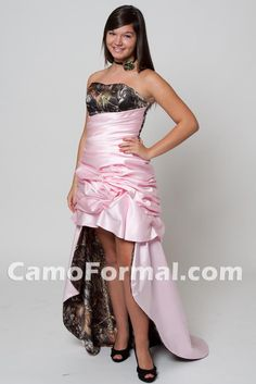 "Camo Prom dress style 3199 ""Lilly"" XTreme Rouched Skirt I want it in a different color not pink!!!"