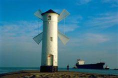 Swinemunde, St Mlyny Front Lighthouse, Poland