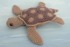 SEA TURTLE: If you're reading this, Missy, I will totally buy the pattern and materials if you're willing to make it for me!