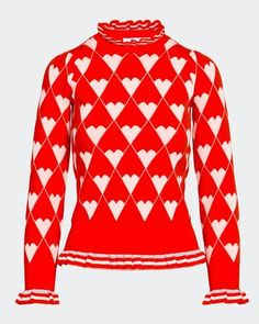 Dunnes Stores   Red Savida Juliet Lurex Heart Jumper Linen Store, White Towels, Fine Linens, Clothes Horse, Online Purchase, Bag Storage, No Frills, Light In The Dark, Christmas Sweaters
