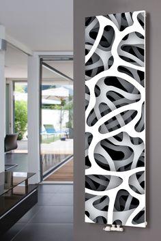 XIMAX Paneelheizkörper P1 Plan Print, mit Mittenanschluss und Motiv P8 Design
