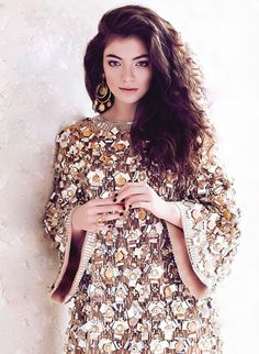 Lorde by Chris Nicholls for FASHION Magazine, May 2014