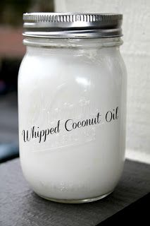 Coconut Oil for eczema... Whipping it makes it easier to scoop and spread.  Starting as new treatment for my two year old's eczema