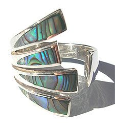 Abalone Ring---I have loved Abalone jewelry forever!!  <3