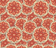 Ethiopian Star  fabric by vicky_s on Spoonflower - custom fabric