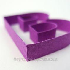 Paper Zen: Quilling Letters 101 - Part 1 Kissing Glue