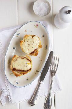 Croque Madame Muffins — eat, little bird.  Saw her make this. 'The little Paris kitchen Rachel Khoi'.  Brunch idea, will try Sunday.