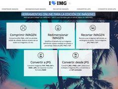 I love IMG  Herramienta para editar Imágenes online
