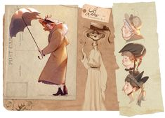 Art of Celia Kaspar • Character Design, Illustration & Animation