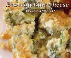 Broccoli Blue Cheese Casserole