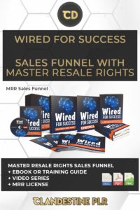 Wired For Success Sales Funnel With Master Resale Rights  | #MasterResaleRightsSaleFunnels #MRRSaleFunnels #MRRProducts #MRR #MasterResaleRights Success Video, Image Master, Social Media Images, Find Work, Private Label, Tool Box, How To Introduce Yourself, Are You Happy, How Are You Feeling