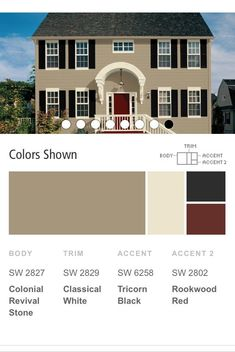 Trendy Exterior Siding Colors For House Shutters Ideas Best House Colors Exterior, Exterior House Colors Combinations, Best Exterior Paint, Exterior Color Schemes, House Color Schemes, House Paint Exterior, Exterior Design, Color Combinations, Exterior Siding
