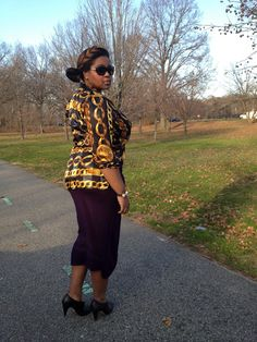 Vintage Chain Shirt, Thrift burgandy skirt, and Loeffler Randall booties with Tory Burch Sunglasses    The Style Climber