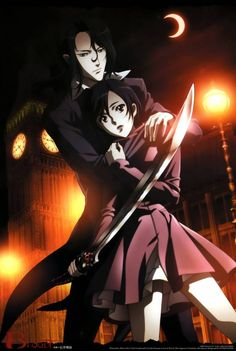 """""""Blood plus"""", my second favorite anime. :) I really need to get into anime more. I've only seen like three series, so kinda behind as a """"fan"""" lol."""