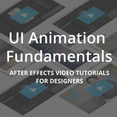 UX in Motion UI Animation Fundamentals - UX in Motion