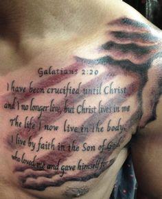 Psalms 23 4 chest tattoo w rays tattoo 39 s pinterest for North carolina tattoo ideas