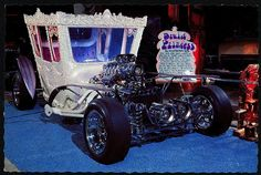 "The Druid Princess, by Ed ""Big Daddy"" Roth . Made originally for The Addams Family as Morticia's car."