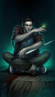 Teen Wolf Nogitsune by SineAlas
