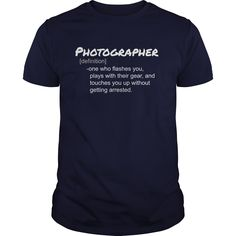 Photographer Definition Back T-Shirts, Hoodies. GET IT ==►…
