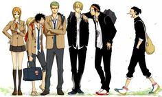 Tags: Anime, ONE PIECE, Nami, Sanji, Roronoa Zoro, Luffy, Ace