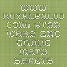 www.royalbaloo.com: star wars 2nd grade math sheets