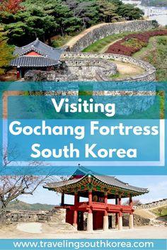 Visiting Gochang Fortress South Korea