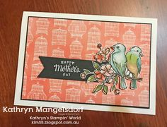 Kathryn's Stampin' World: Art with Heart Team Creative Showcase - Mother's Day