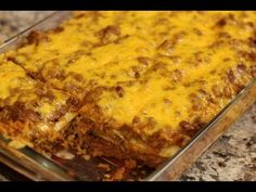 Real Beef Enchiladas, Spanish Rice, Refried Beans! - YouTube