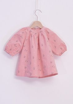WINTER COLLECTION / La Queue Du Chat / Sweet Pink Dress /  ♥ Stylish French Fashion Dress For Baby ♥ www.littlefrenchy.com.au #french #laqueueduchat #new #winter #littlefrenchy