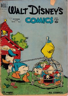 Walt Disney's Comics and Stories 121 October 1950 by ViewObscura