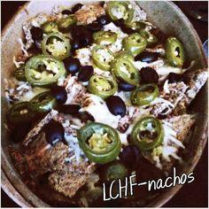 LCHF-nachos