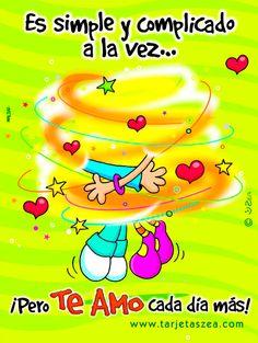 Felicidades mí argentino en línea en este primer mes de muchos meses que se convertirán en una vida te amo All You Need Is Love, Peace And Love, My Love, Great Inspirational Quotes, Love Quotes, Love Images, Funny Images, Mickey Love, Love My Husband
