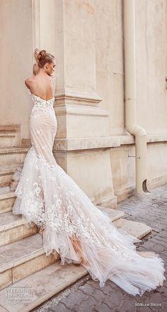 miriams bride 2018 bridal strapless sweetheart neckline full embellishment bustier elegant sexy mermaid wedding dress royal train (3) bv -- Miriams Bride 2018 Wedding Dresses