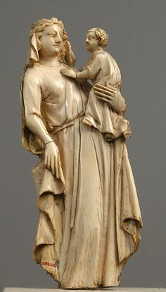 Virgin and Child Date: 14th century Culture: French Medium: Ivory Accession Number: 17.190.210