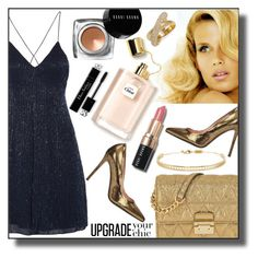 """""""Upgrade Your Style"""" by veronica-h ❤ liked on Polyvore featuring Consuelo, L'Autre Chose, Alice + Olivia, Bobbi Brown Cosmetics, MICHAEL Michael Kors, Swarovski, Arme De L'Amour, Heels, dress and bag"""