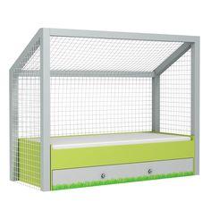 Il letto perfetto per tutti i nostri calciatori! Un letto che crea un ambiente divertente e accattivante, in grado di dare alla camera un tocco di sicura originalità.  http://www.lettiniecamerette.it
