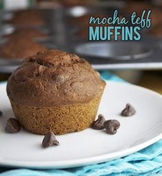 Mocha Teff Muffins
