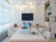 69 ideas shabby chic home inspo Law Office Decor, Doctors Office Decor, Office Cabin Design, Modern Office Design, Office Designs, Clinic Interior Design, Clinic Design, Feminine Office, Medical Office Design