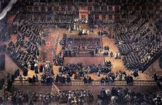 """""""Auto de Fe"""",painted by Francisco Ricci in scene in the Plaza Mayor, Madrid, 30 the Spanish Inquisition. Peru Travel, Spain Travel, Belize, Voltaire Candide, Dark Legends, The Inquisition, Les Religions, Early Christian, Spain And Portugal"""