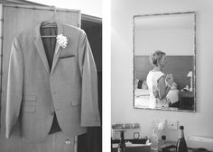 Grooms jacket Samantha and Dean's wedding at Rossett Hall Hotel, part one — Raymond Jones Images
