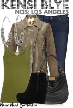 Wear What You Watch • Daniela Ruah as Kensi Blye from NCIS: Los Angeles...