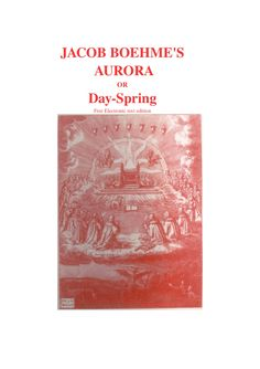 Jacob Boehmes Aurora, Free eBook by Chuck Thompson via slideshare St Jerome, New Age, Free Ebooks, Aurora, Northern Lights