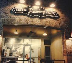 Dichotomy Coffee & Spirits in downtown Waco