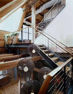 Three-story West Loop Loft renovation by Scrafano Architects in Chicago, Illinois