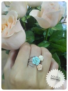Rose rings... http://mariapapastamou.blogspot.gr/2017/06/blog-post.html?m=1