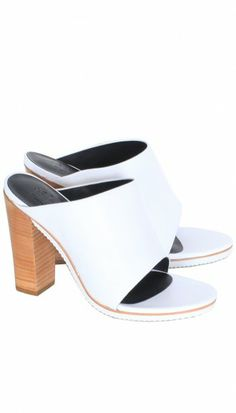 24e76623d31382 We all need a chic white shoe in our closets  meet the Bee Heel.