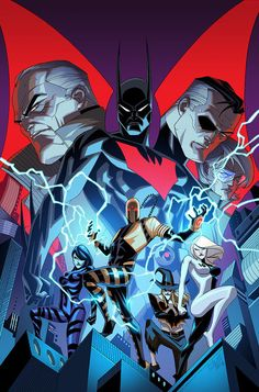 Cover to the final issues of Batman Beyond I had to come back and give Terry Mcginnis a proper send off It was Great to final. Batman Beyond - Issue Batman Beyond, Comic Book Covers, Comic Books Art, Comic Art, Gotham, Bob Kane, Batman Artwork, Superman Wallpaper, Comic Manga
