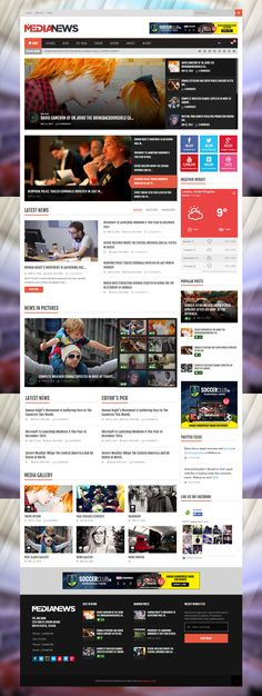 MediaNews is Premium full Responsive WordPress Magazine theme. Retina Ready. Drag and Drop. WooCommerce. bbPress. RTL support. http://www.responsivemiracle.com/cms/medianews-premium-responsive-news-magazine-blog-wordpress-theme/